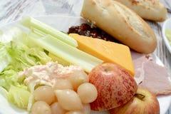 Ploughman ` s salade Stock Foto's