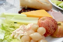 Ploughman ` s salade Royalty-vrije Stock Foto's