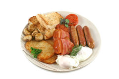 Ploughmans Breakfast Stock Photography