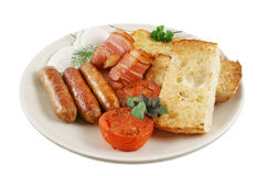 Ploughmans Breakfast Royalty Free Stock Images