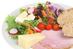 Ploughmans Lunch Royalty Free Stock Photos