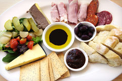 Ploughmans Lunch Royalty Free Stock Image