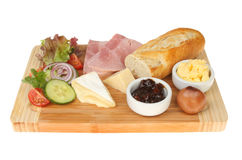 Ploughmans lunch Stock Photos