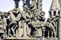 Plougonven, Finistère, Бретань, Франция Стоковые Фотографии RF