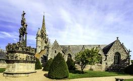 Plougonven, Finistère, Бретань, Франция Стоковое Изображение RF