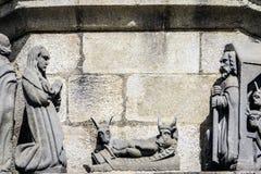 Plougonven, Finistère, Bretagne, Frankrijk Royalty-vrije Stock Afbeelding