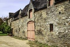 Plougonven, Finistère, Bretagne, Frankrijk Stock Foto