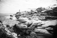 Ploumanac'h Lighthouse Stock Image