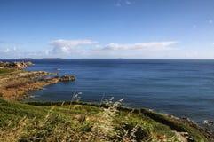 Ploumanach (Βρετάνη) και Ατλαντικός Ωκεανός Στοκ φωτογραφίες με δικαίωμα ελεύθερης χρήσης