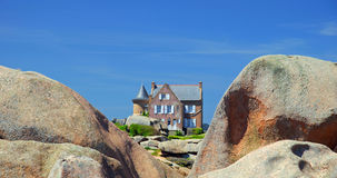 Ploumanach,Brittany Stock Photography