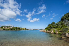 Ploumanach, more beautiful village of France 2015, Brittany, Côtes-d'Armor, France Royalty Free Stock Images