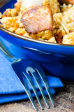 Plov and fork Royalty Free Stock Photography
