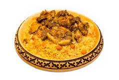 Plov kazakh de repas image libre de droits