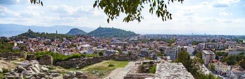 Plovdiv, άποψη της Βουλγαρίας Στοκ εικόνα με δικαίωμα ελεύθερης χρήσης