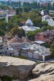 Plovdiv, άποψη της Βουλγαρίας Στοκ Φωτογραφίες