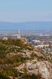 Plovdiv άποψη του βάθρου Alyosha Στοκ εικόνες με δικαίωμα ελεύθερης χρήσης