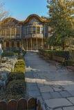 PLOVDIV, ΒΟΥΛΓΑΡΙΑ - 2 ΙΑΝΟΥΑΡΊΟΥ 2017: Οικοδόμηση του εθνογραφικού μουσείου στην παλαιά πόλη Plovdiv Στοκ Εικόνες
