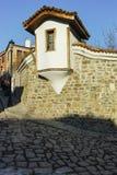 PLOVDIV, ΒΟΥΛΓΑΡΙΑ - 2 ΙΑΝΟΥΑΡΊΟΥ 2017: Οικοδόμηση του εθνογραφικού μουσείου στην παλαιά πόλη Plovdiv Στοκ φωτογραφία με δικαίωμα ελεύθερης χρήσης