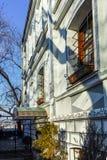 PLOVDIV, ΒΟΥΛΓΑΡΙΑ - 2 ΙΑΝΟΥΑΡΊΟΥ 2017: Παλαιά σπίτια στην παλαιά κωμόπολη στην πόλη Plovdiv Στοκ φωτογραφία με δικαίωμα ελεύθερης χρήσης