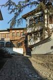 PLOVDIV, ΒΟΥΛΓΑΡΙΑ - 2 ΙΑΝΟΥΑΡΊΟΥ 2017: Σπίτι από την περίοδο βουλγαρικής αναγέννησης στην παλαιά πόλη Plovdiv Στοκ φωτογραφία με δικαίωμα ελεύθερης χρήσης