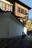 PLOVDIV, ΒΟΥΛΓΑΡΙΑ - 2 ΙΑΝΟΥΑΡΊΟΥ 2017: Σπίτι από την περίοδο βουλγαρικής αναγέννησης στην παλαιά πόλη Plovdiv Στοκ Εικόνες