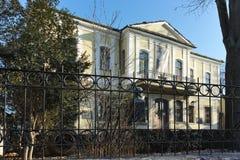 PLOVDIV, ΒΟΥΛΓΑΡΙΑ - 2 ΙΑΝΟΥΑΡΊΟΥ 2017: Σπίτι από την περίοδο βουλγαρικής αναγέννησης στην παλαιά πόλη Plovdiv Στοκ εικόνα με δικαίωμα ελεύθερης χρήσης
