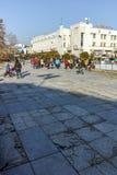 PLOVDIV, ΒΟΥΛΓΑΡΙΑ - 2 ΙΑΝΟΥΑΡΊΟΥ 2017: Τετράγωνο Tsentralen σε Plovdiv, Βουλγαρία Στοκ εικόνα με δικαίωμα ελεύθερης χρήσης