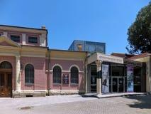 PLOVDIV, ΒΟΥΛΓΑΡΙΑ - 13 ΙΟΥΝΊΟΥ 2012: Οικοδόμηση του ιστορικού και αρχαιολογικού μουσείου Plovdiv Στοκ φωτογραφίες με δικαίωμα ελεύθερης χρήσης