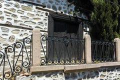PLOVDIV, ΒΟΥΛΓΑΡΙΑ - 10 ΙΟΥΝΊΟΥ 2017: Σπίτι από την περίοδο βουλγαρικής αναγέννησης στην παλαιά πόλη Plovdiv Στοκ φωτογραφίες με δικαίωμα ελεύθερης χρήσης