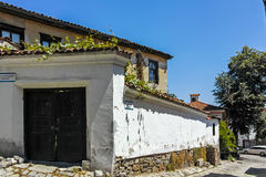 PLOVDIV, ΒΟΥΛΓΑΡΙΑ - 10 ΙΟΥΝΊΟΥ 2017: Σπίτι από την περίοδο βουλγαρικής αναγέννησης στην παλαιά πόλη Plovdiv Στοκ εικόνες με δικαίωμα ελεύθερης χρήσης