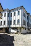 PLOVDIV, ΒΟΥΛΓΑΡΙΑ - 10 ΙΟΥΝΊΟΥ 2017: Σπίτι από την περίοδο βουλγαρικής αναγέννησης στην παλαιά πόλη Plovdiv Στοκ Εικόνες