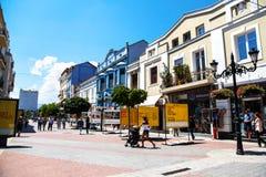 Plovdiv, Βουλγαρία Στοκ φωτογραφία με δικαίωμα ελεύθερης χρήσης