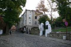 Plovdiv κεντρικός, Βουλγαρία Στοκ φωτογραφία με δικαίωμα ελεύθερης χρήσης