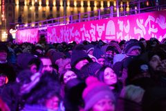 Plovdiv - ευρωπαϊκό κεφάλαιο του πολιτισμού 2019 στοκ φωτογραφίες