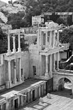 Plovdiv Amphitheater Royalty Free Stock Image