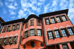 Plovdiv Architecture Royalty Free Stock Photography