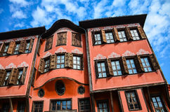 Plovdiv architektura Zdjęcia Royalty Free
