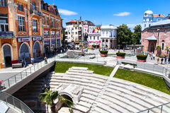 Plovdiv, Bulgaria Fotografía de archivo libre de regalías