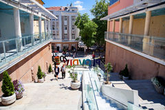 PLOVDIV, BULGARIA - 26 JUNE 2015 Royalty Free Stock Photography
