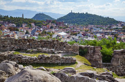 Plovdiv Bulgaria view Stock Photography