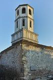 PLOVDIV BULGARIEN - JANUARI 2 2017: St Constantine och St Elena kyrktar från perioden av den bulgariska nypremiären i Plovdiv Royaltyfria Foton