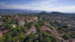 Plovdiv Bulgarien, 23 Oktober 2018 arkivfoto