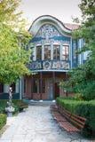 PLOVDIV, BULGARIJE - JANUARI - het Regionale Museum royalty-vrije stock fotografie