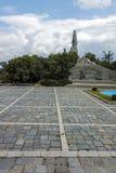 PLOVDIV, BULGARIJE 11 JUNI, 2017: Monument van het SovjetdieLeger als Alyosha in stad van Plovdiv wordt bekend Royalty-vrije Stock Foto's