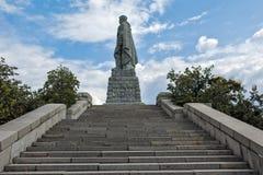PLOVDIV, BULGARIJE 11 JUNI, 2017: Monument van het SovjetdieLeger als Alyosha in stad van Plovdiv wordt bekend Royalty-vrije Stock Afbeeldingen