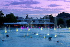 Plovdiv city fountais,Bulgaria Royalty Free Stock Photography