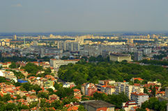 Plovdiv cityscape Stock Image