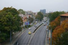 Plovdiv de stad in, Bulgarije royalty-vrije stock foto
