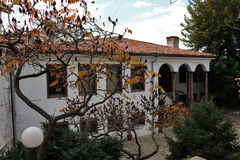 Plovdiv in kleuren Stock Foto's