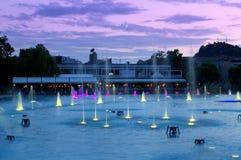 Plovdiv miasta fountais, Bułgaria Fotografia Royalty Free